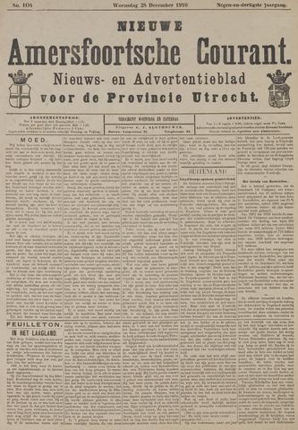 Nieuwe Amersfoortsche Courant 1910-12-28