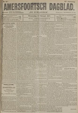 Amersfoortsch Dagblad / De Eemlander 1917-02-14