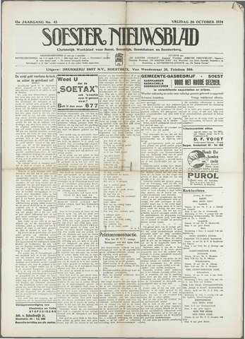 Soester Courant 1934-10-26