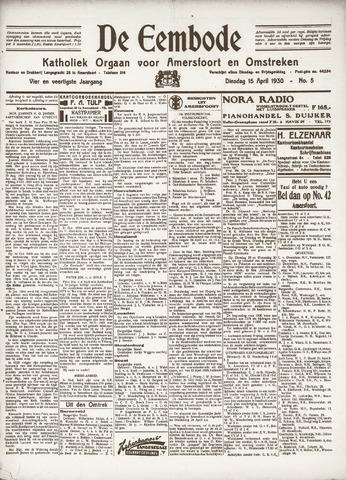 De Eembode 1930-04-15