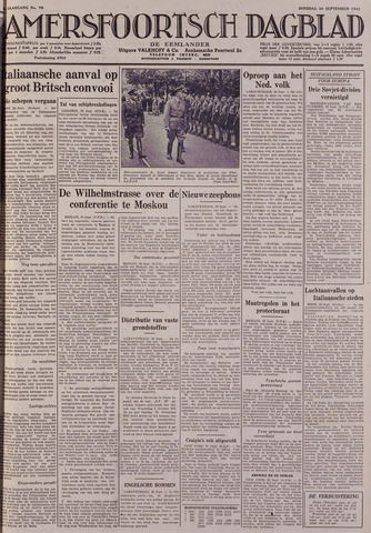 Amersfoortsch Dagblad / De Eemlander 1941-09-30