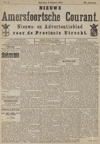 Nieuwe Amersfoortsche Courant 1914-01-03