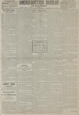Amersfoortsch Dagblad / De Eemlander 1922-10-13