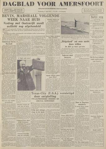Dagblad voor Amersfoort 1947-04-17
