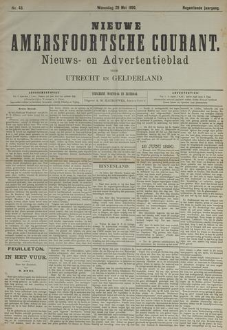 Nieuwe Amersfoortsche Courant 1890-05-28