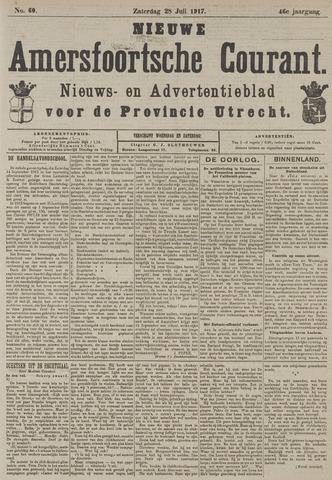 Nieuwe Amersfoortsche Courant 1917-07-28