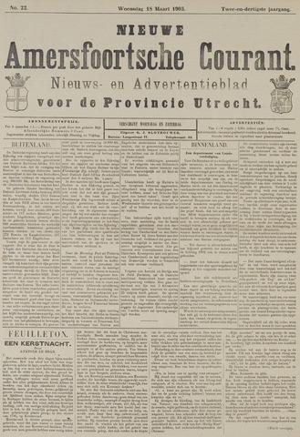 Nieuwe Amersfoortsche Courant 1903-03-18