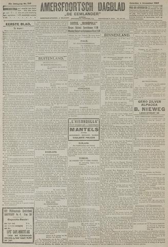 Amersfoortsch Dagblad / De Eemlander 1922-11-04
