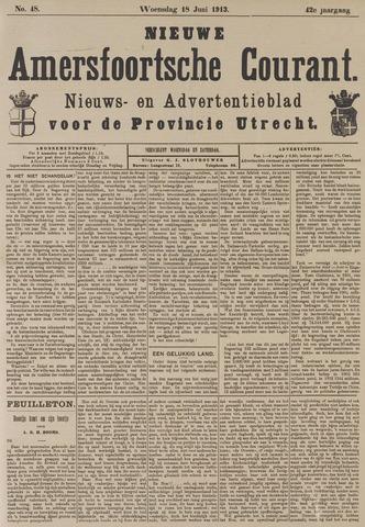 Nieuwe Amersfoortsche Courant 1913-06-18