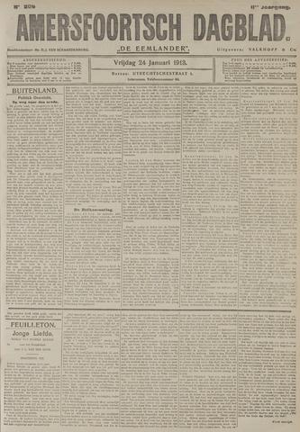 Amersfoortsch Dagblad / De Eemlander 1913-01-24
