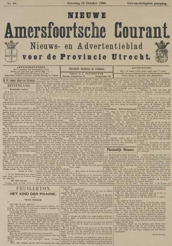 Nieuwe Amersfoortsche Courant 1905-10-21