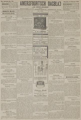 Amersfoortsch Dagblad / De Eemlander 1926-02-15