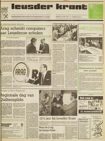 Leusder Krant 1986-04-22