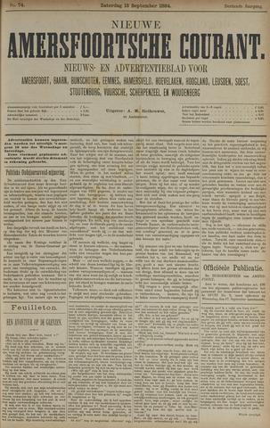 Nieuwe Amersfoortsche Courant 1884-09-13