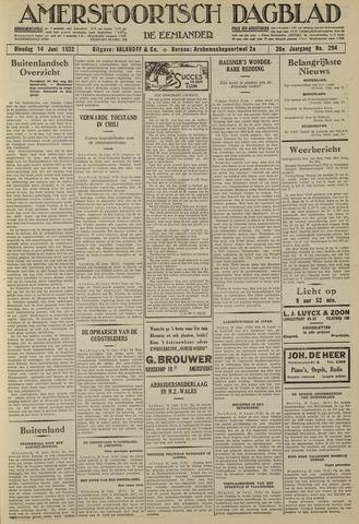 Amersfoortsch Dagblad / De Eemlander 1932-06-14