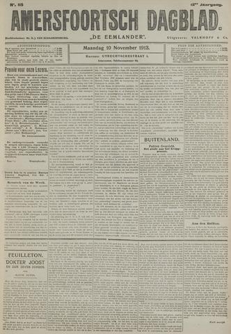 Amersfoortsch Dagblad / De Eemlander 1913-11-10
