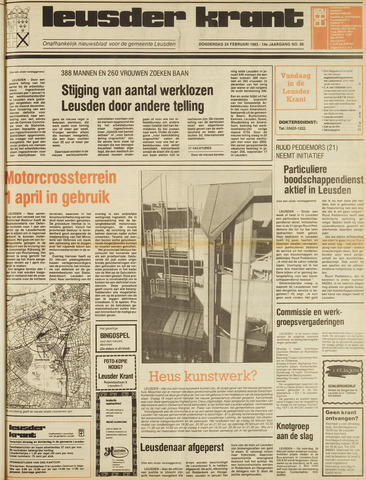 Leusder Krant 1983-02-24