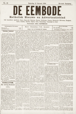 De Eembode 1894-01-13
