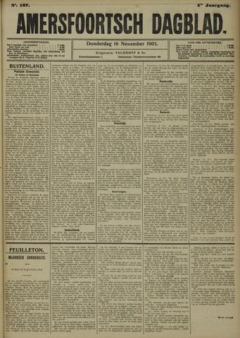 Amersfoortsch Dagblad 1905-11-16