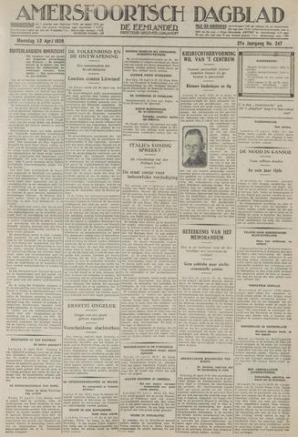 Amersfoortsch Dagblad / De Eemlander 1929-04-22