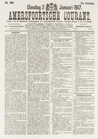 Amersfoortsche Courant 1917