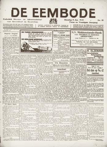 De Eembode 1929-01-08