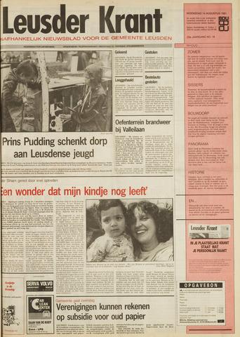 Leusder Krant 1991-08-14