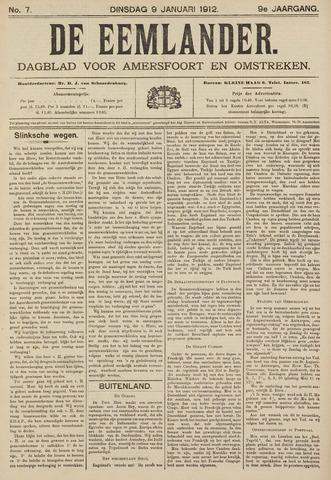 De Eemlander 1912-01-09