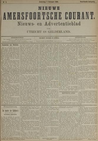 Nieuwe Amersfoortsche Courant 1885-02-07