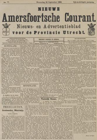 Nieuwe Amersfoortsche Courant 1906-09-26