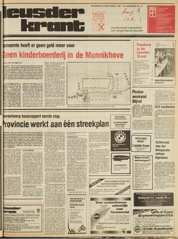 Leusder Krant 1982-09-02