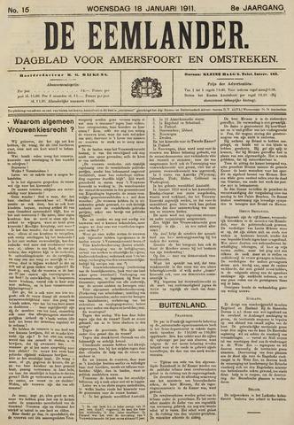 De Eemlander 1911-01-18