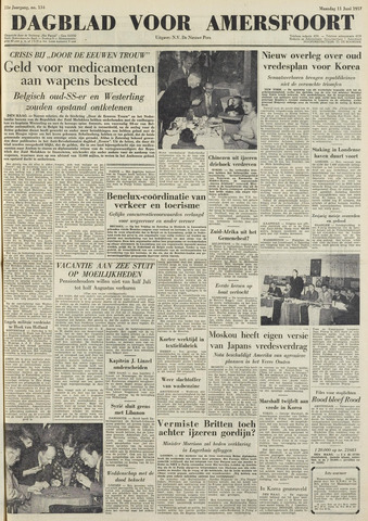 Dagblad voor Amersfoort 1951-06-11