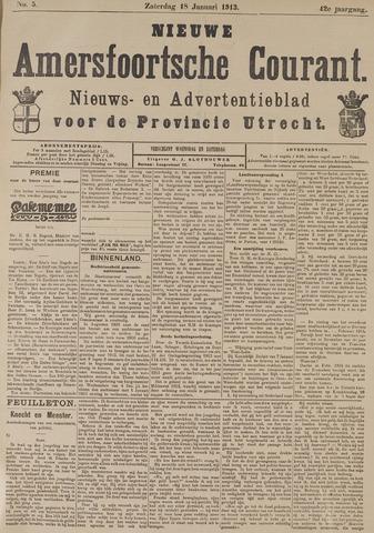 Nieuwe Amersfoortsche Courant 1913-01-18