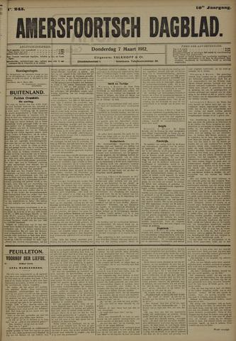 Amersfoortsch Dagblad 1912-03-07