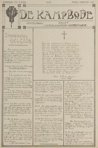 De Kampbode 1917-11-11