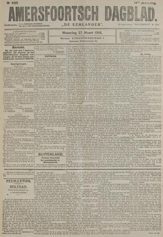Amersfoortsch Dagblad / De Eemlander 1916-03-27