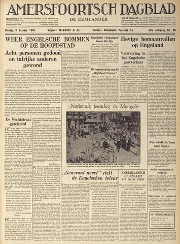 Amersfoortsch Dagblad / De Eemlander 1940-10-08