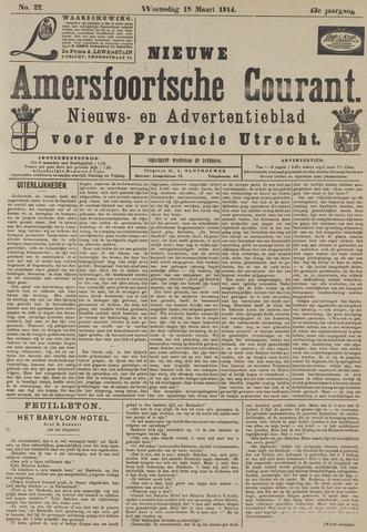 Nieuwe Amersfoortsche Courant 1914-03-18