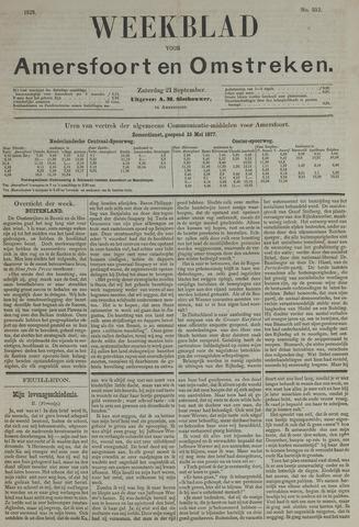 Weekblad voor Amersfoort en Omstreken 1878-09-21