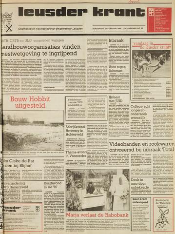 Leusder Krant 1986-02-20