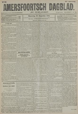 Amersfoortsch Dagblad / De Eemlander 1915-08-30