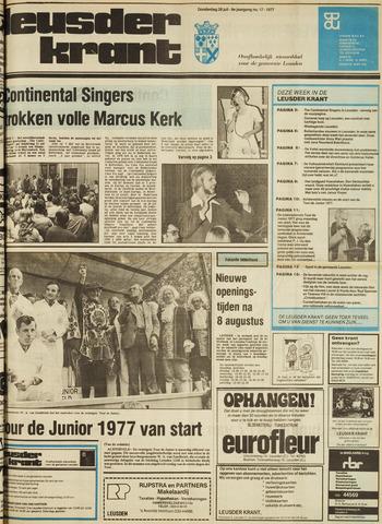 Leusder Krant 1977-07-28