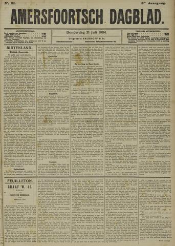 Amersfoortsch Dagblad 1904-07-21