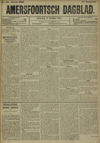Amersfoortsch Dagblad 1905-10-21