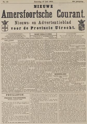 Nieuwe Amersfoortsche Courant 1915-07-17