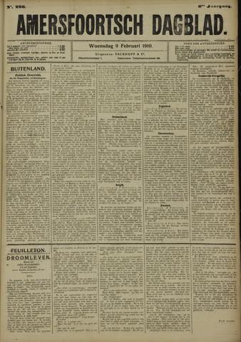 Amersfoortsch Dagblad 1910-02-09