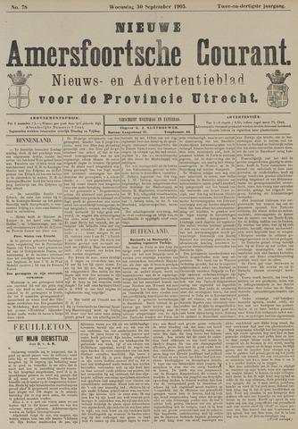 Nieuwe Amersfoortsche Courant 1903-09-30