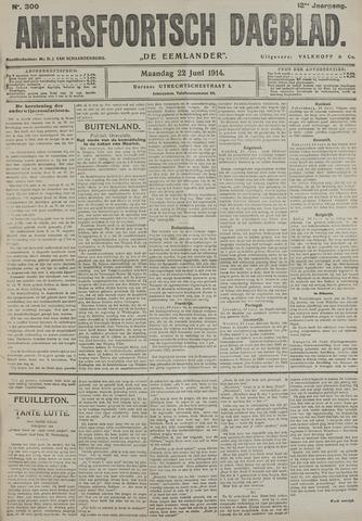 Amersfoortsch Dagblad / De Eemlander 1914-06-22