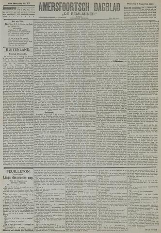 Amersfoortsch Dagblad / De Eemlander 1921-08-01